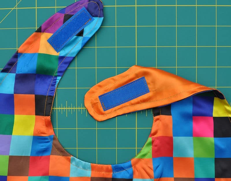 Velcro closures for sewing your DIY cape