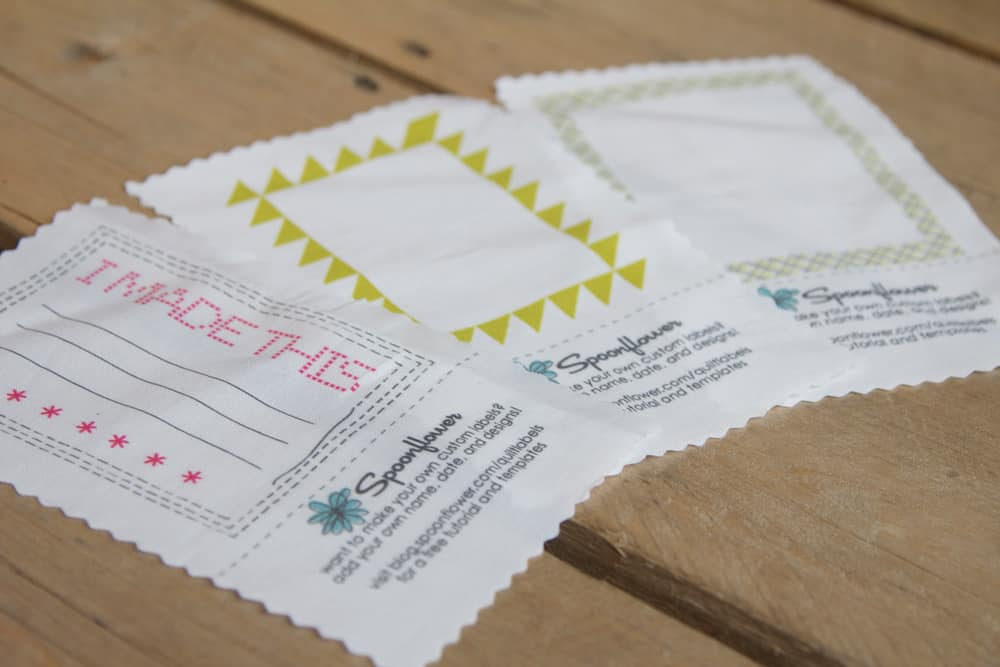 design tutorial | Spoonflower Blog : personalized quilting tags - Adamdwight.com