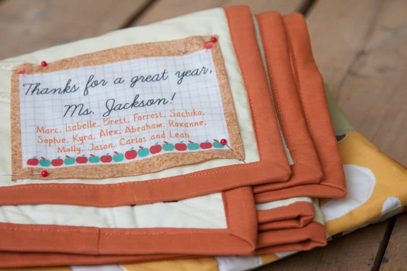 How to design your own personalized quilt labels