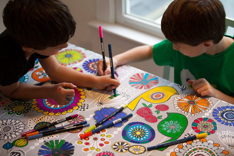 Create a custom art table for your craft room for Arts and crafts ideas for boys
