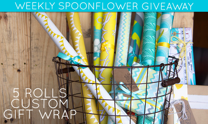 Win custom gift wrap