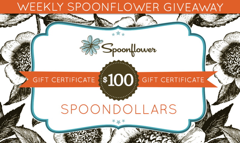 Win $100 Spoonflower credit
