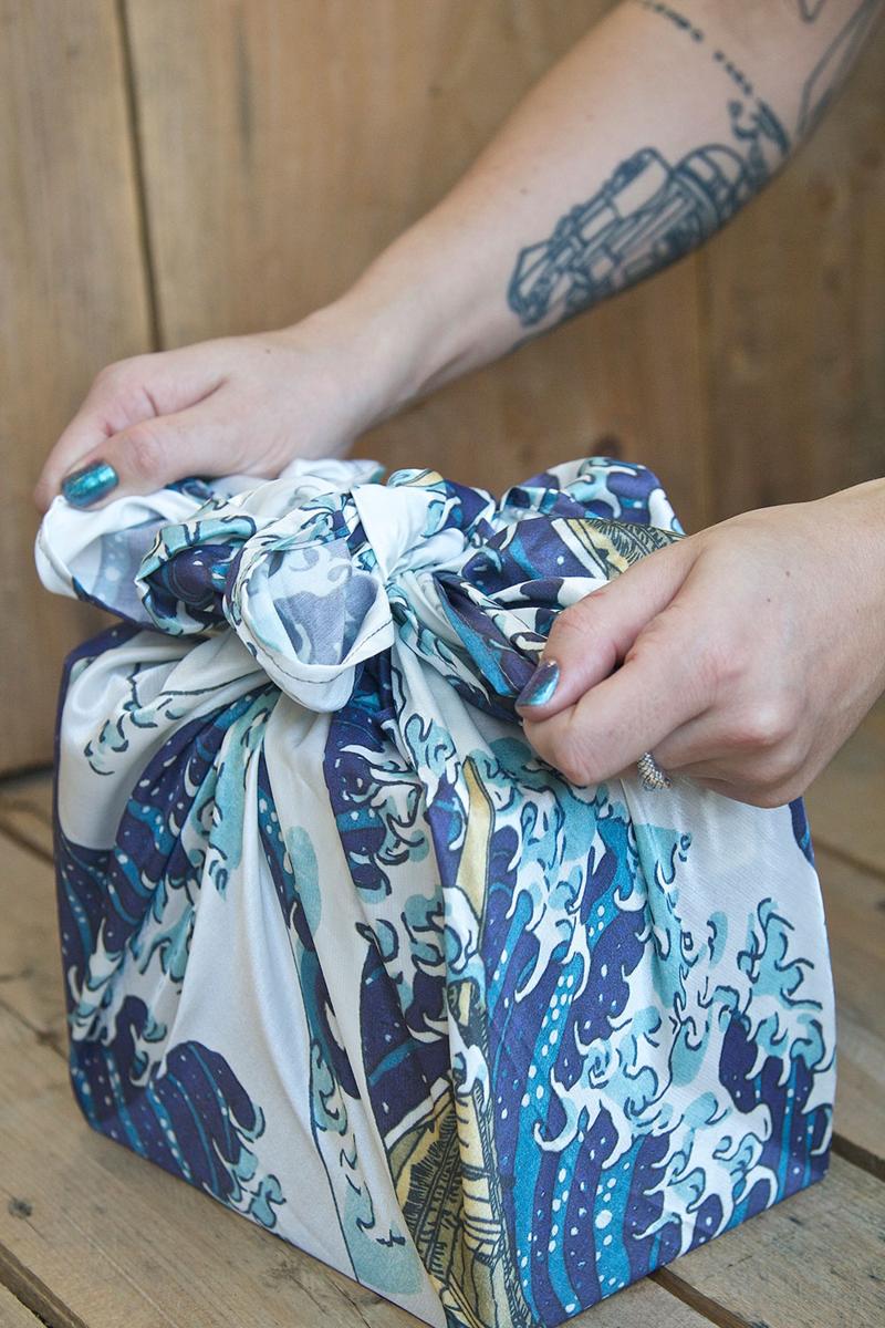 11-Wave-Furoshiki-Gift-Wrap