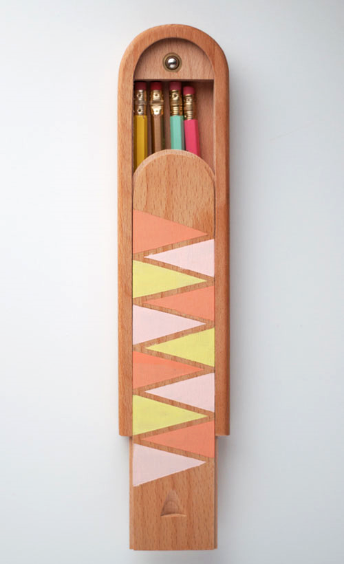 Painted Pencil Box