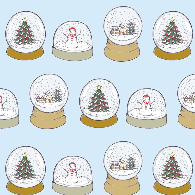 Snow Globe fabric