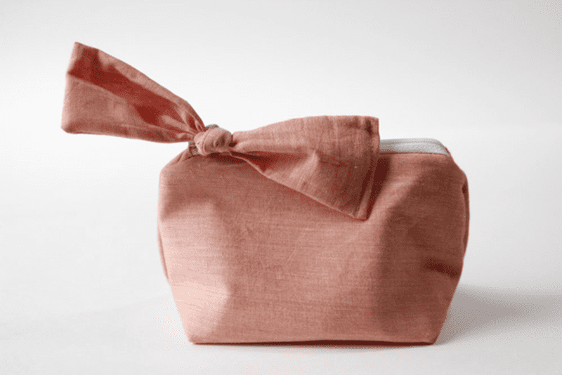 Little Zippered Bow Pouch