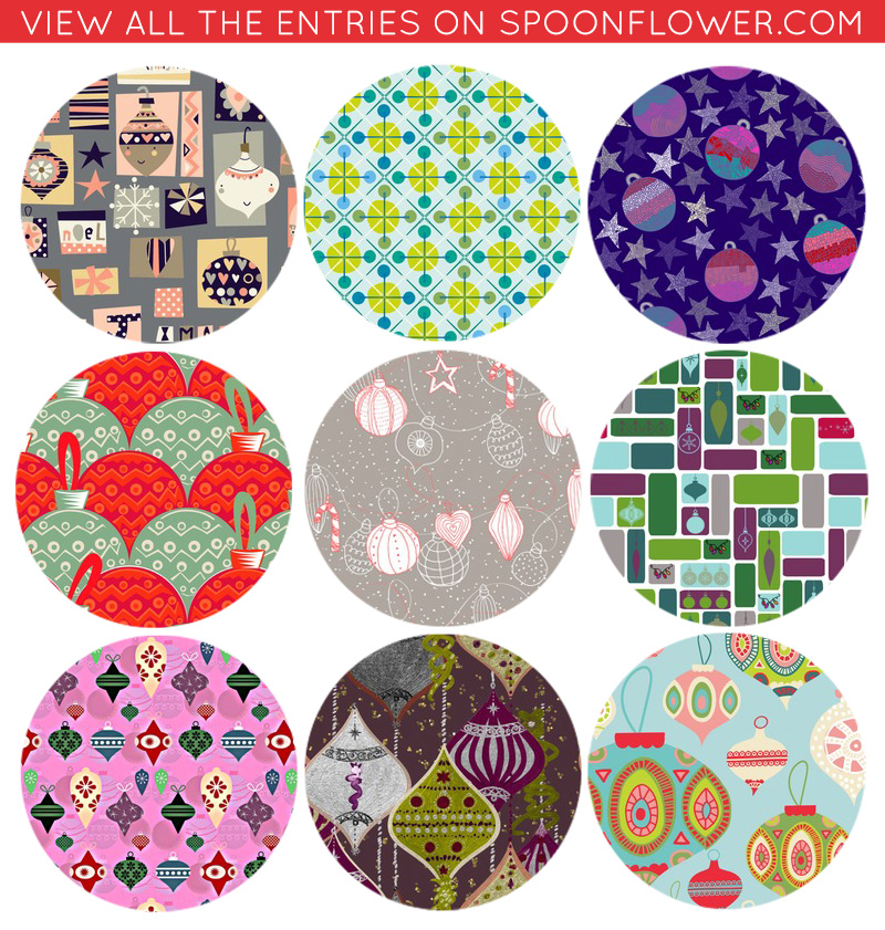 Vote for your favorite ornament gift wrap!