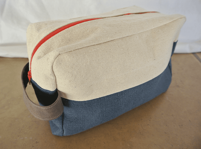DIY dopp kit