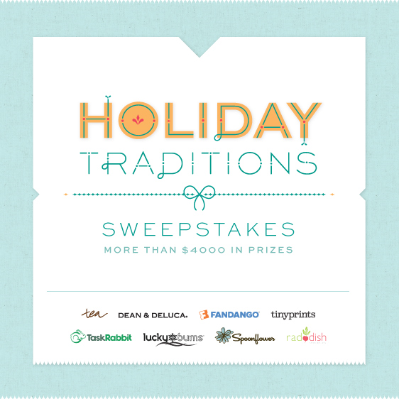 Holiday Traditions Sweepstakes