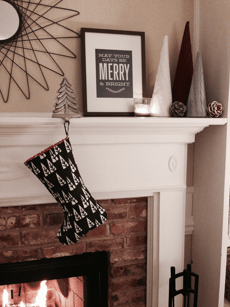 make a Christmas stocking