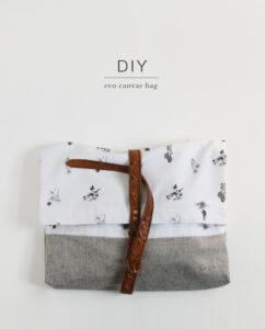 DIY Eco Canvas Bag