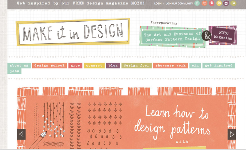 Make It In Design homepage