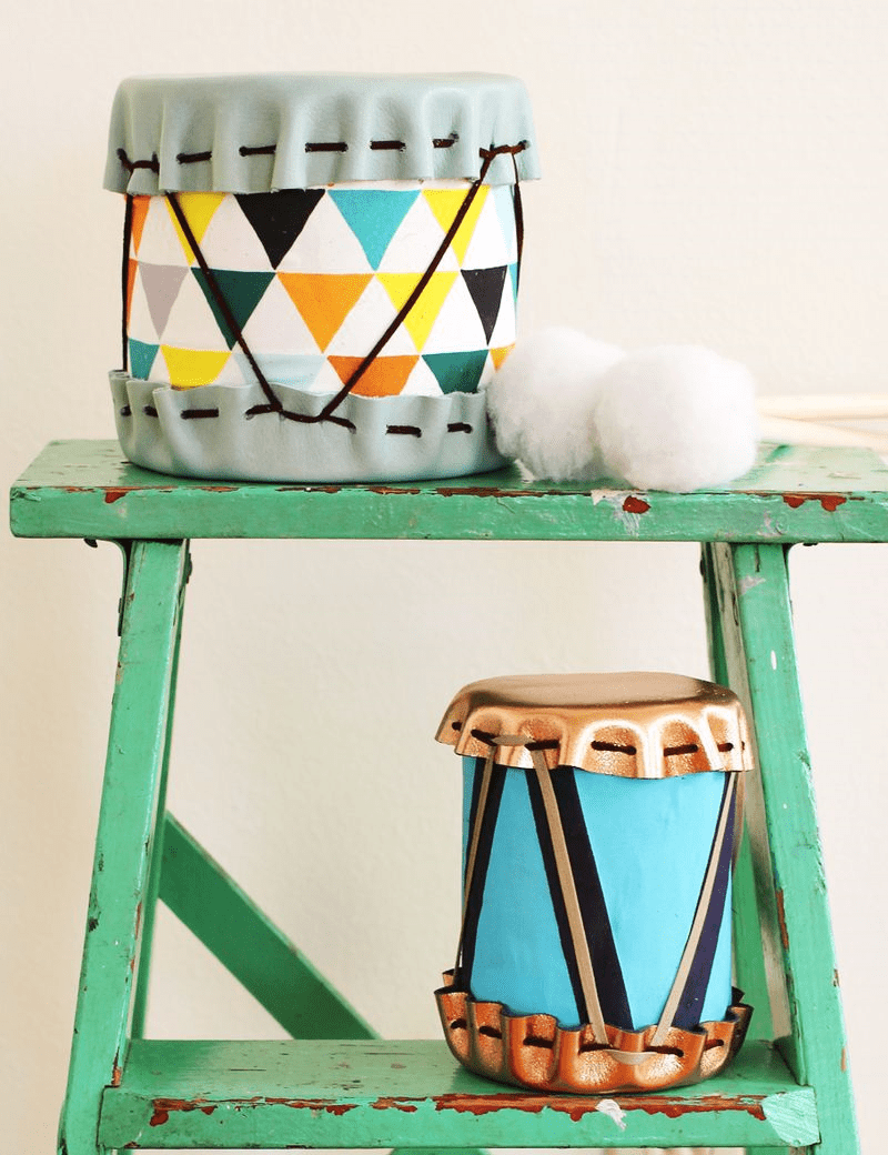 Handmade drums