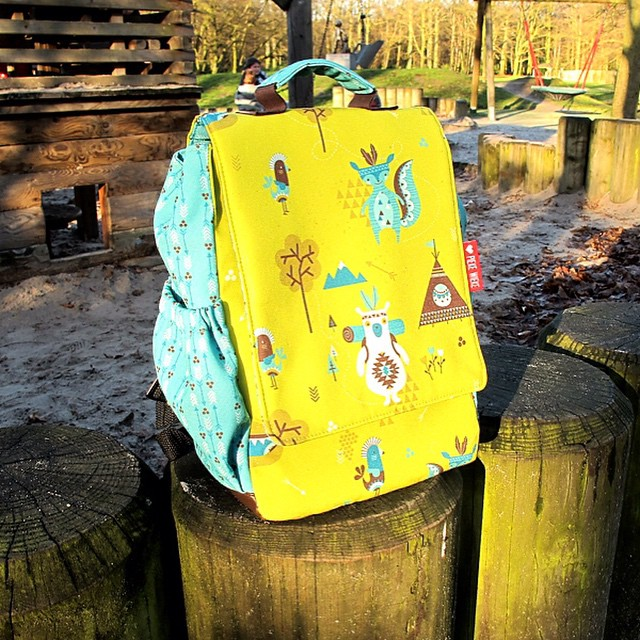 Spoonflower backpack