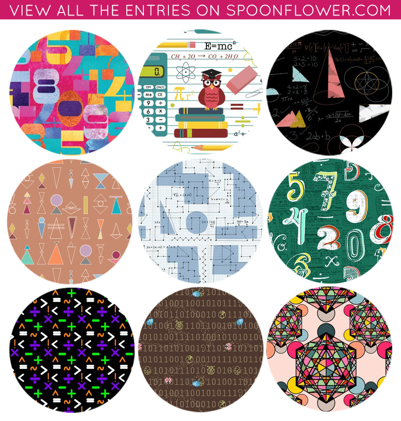 Vote for math fabrics