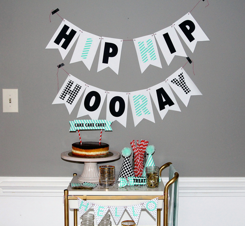 Create custom party decor