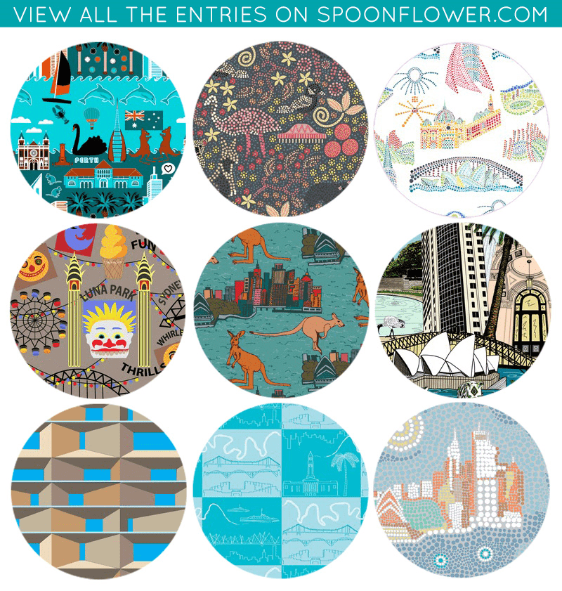Australian Cities Fabric