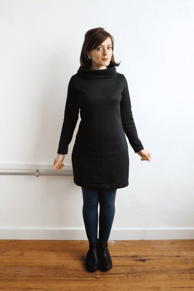 Coco_sweatshirt_dress_black