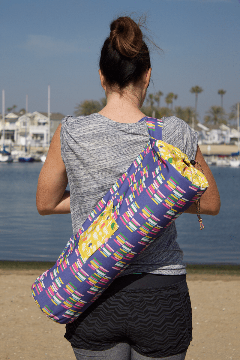 Diy Yoga Mat Bag Spoonflower Blog
