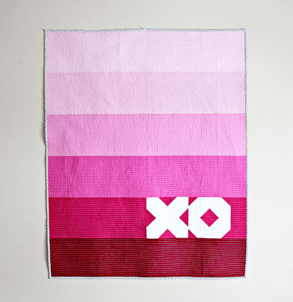 XO Quilt by Canoe Ridge Creations