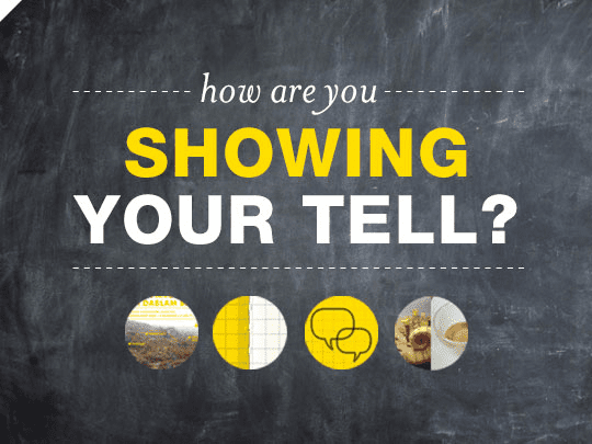 How Are You Showing Your Tell? by Braid Creative