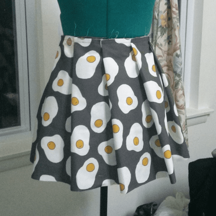 DIY egg skirt