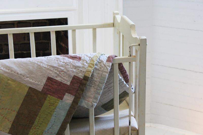 Piedmont crib folded