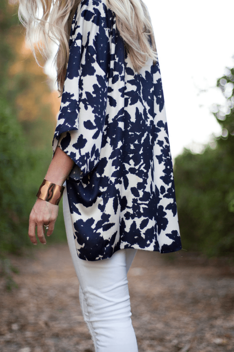 Kimono Cool Tutorial on Elle Apparel Blog