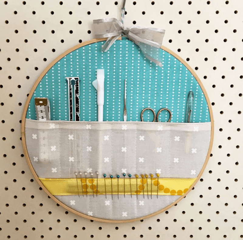 Embroidery Hoop Storage Pocket by Sew Delicious