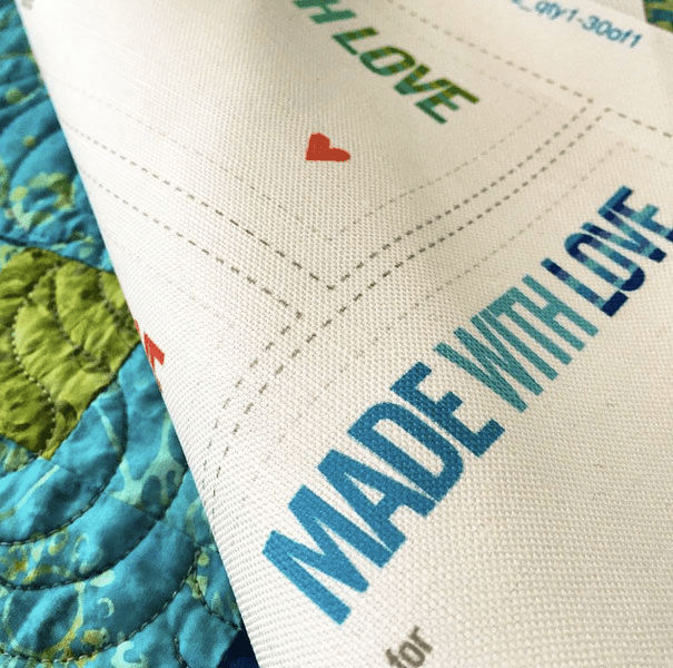 Made with Love labels by Robin Pickens