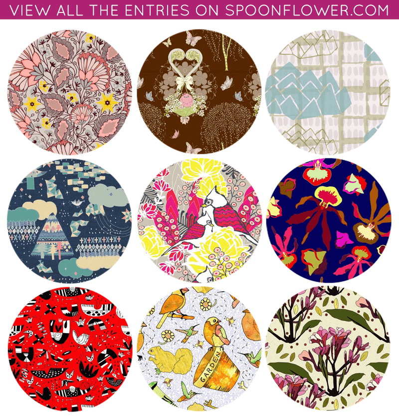 Vote for your favorite Creativebug fabric!