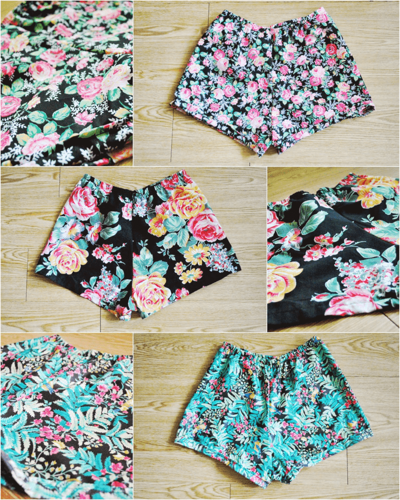 high-waist-shorts-collage