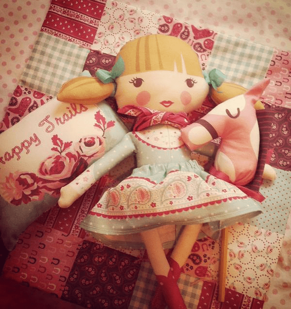 cut and sew Madeline doll