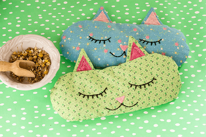 """Cat Nap"" Eye Pillows"