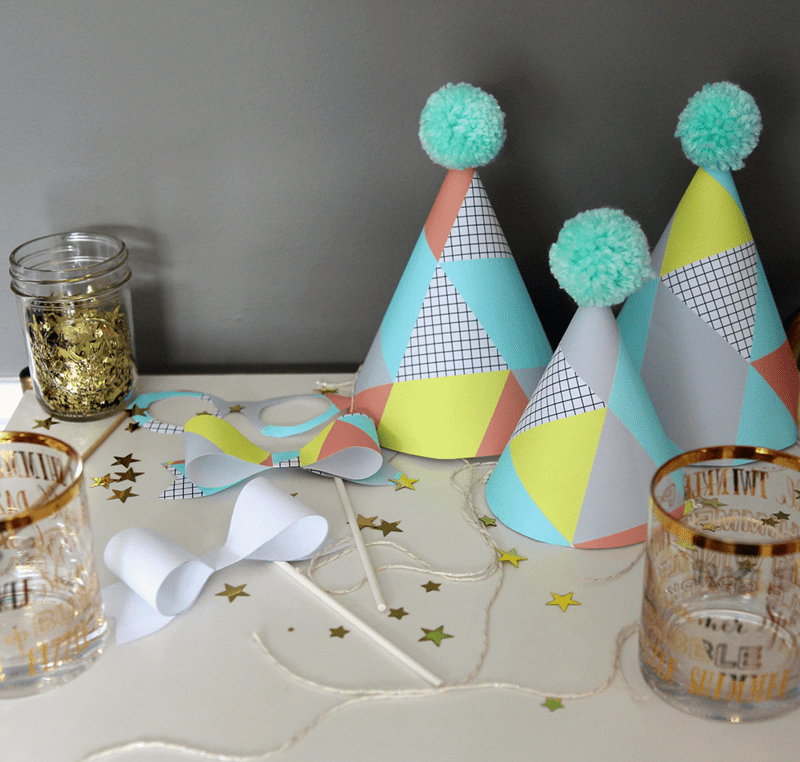 Custom coordinating party supplies