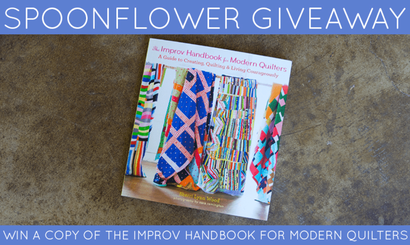 Win a Copy of The Improv Handbook for Modern Quilters
