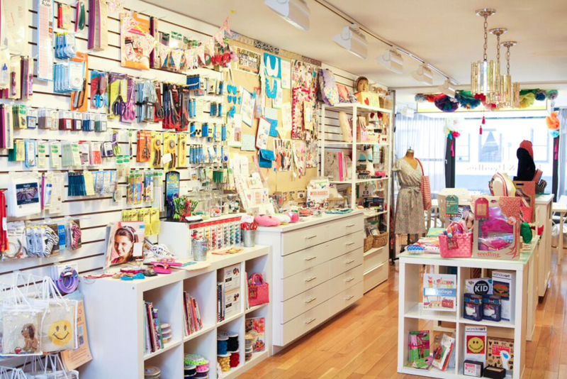 Pins & Needles is a fully stocked sewing shop!