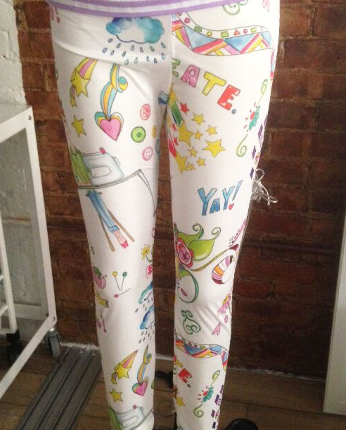 Spoonflower leggings