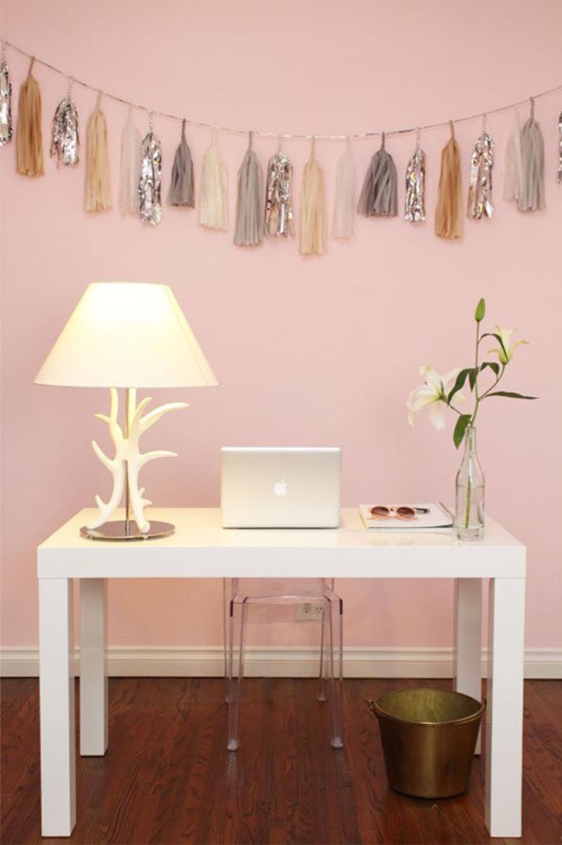 blush wall paint