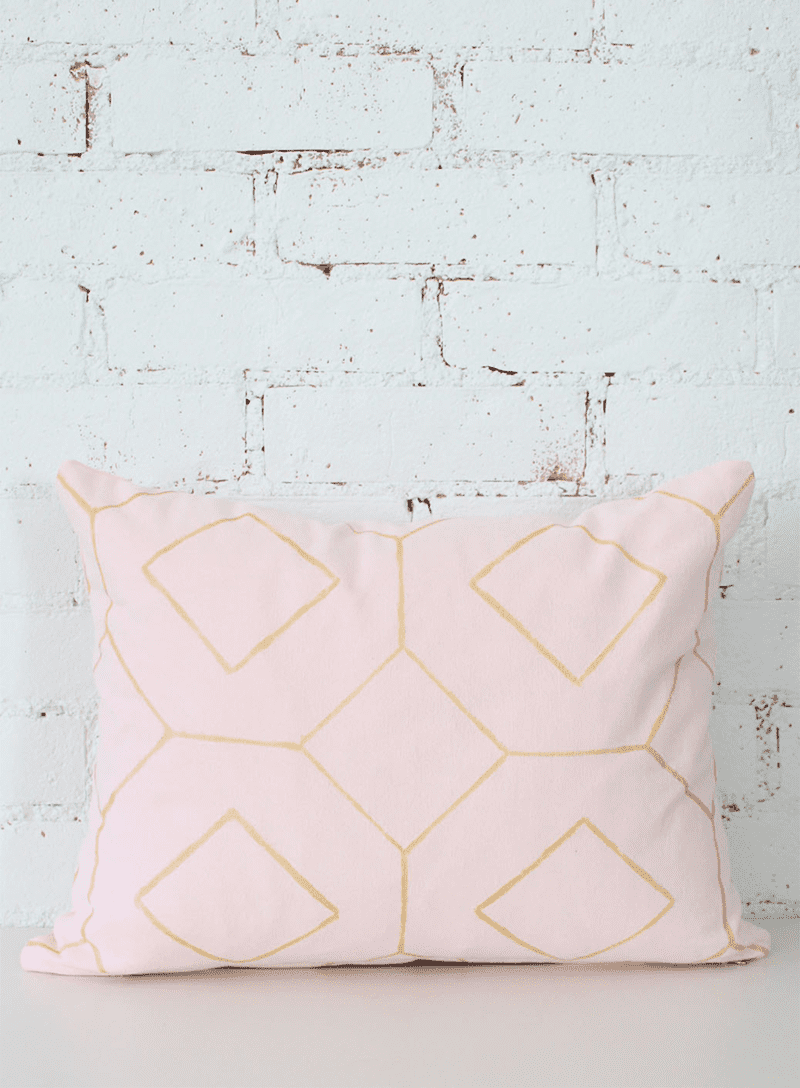 Blush pillow
