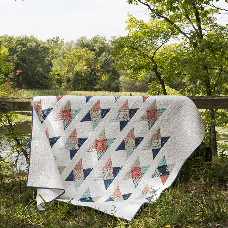 Quilt at field crossing
