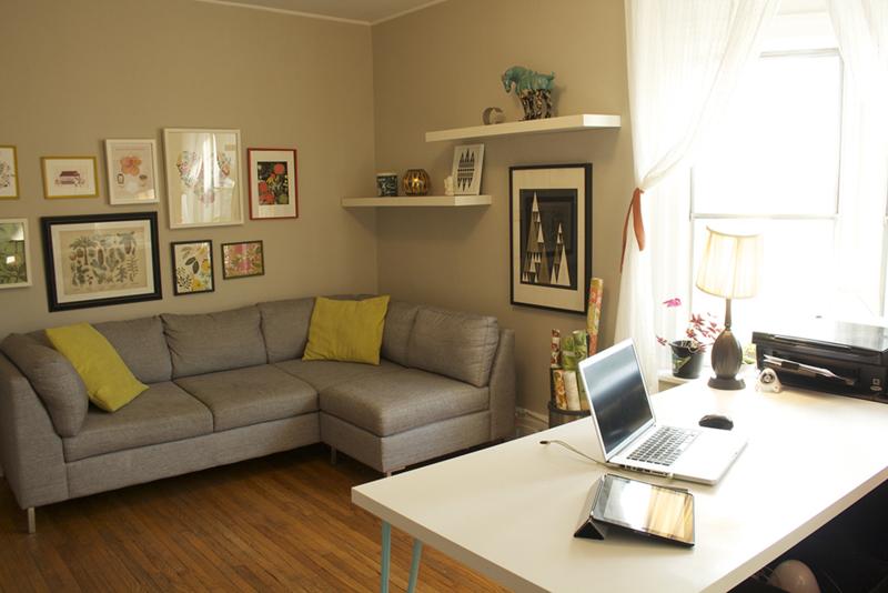 Elizabeth Olwen home studio