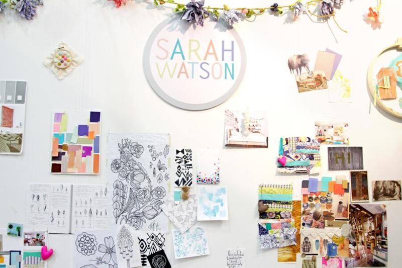 Sarah Watson studio