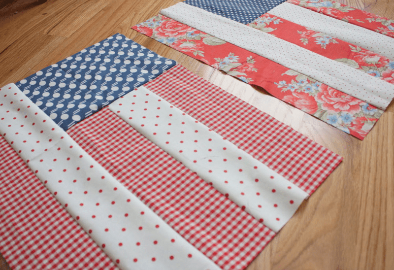 Flag Quilt Blocks