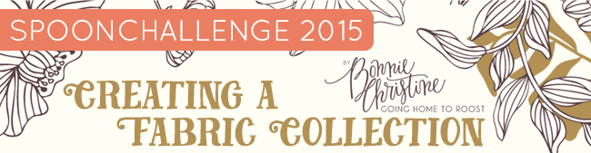 spoonchallenge - creating a fabric collection