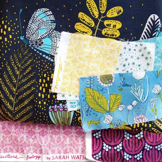 Sarah Watson fabric swatches
