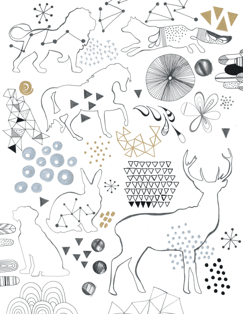 Lamai's doodles for her Fabric8 entry