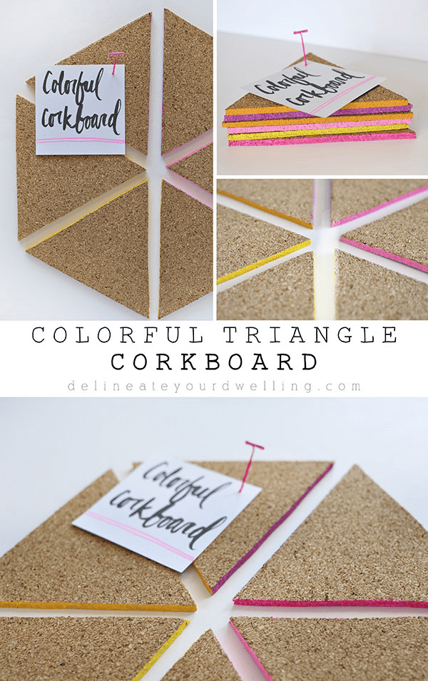 Colorful-Triangle-Corkboard