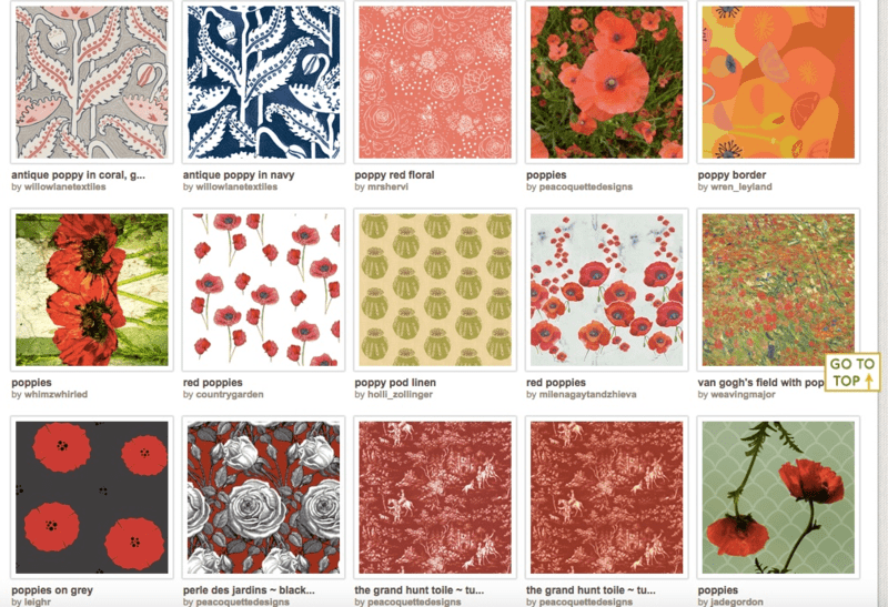 Search results for 'antique red poppies