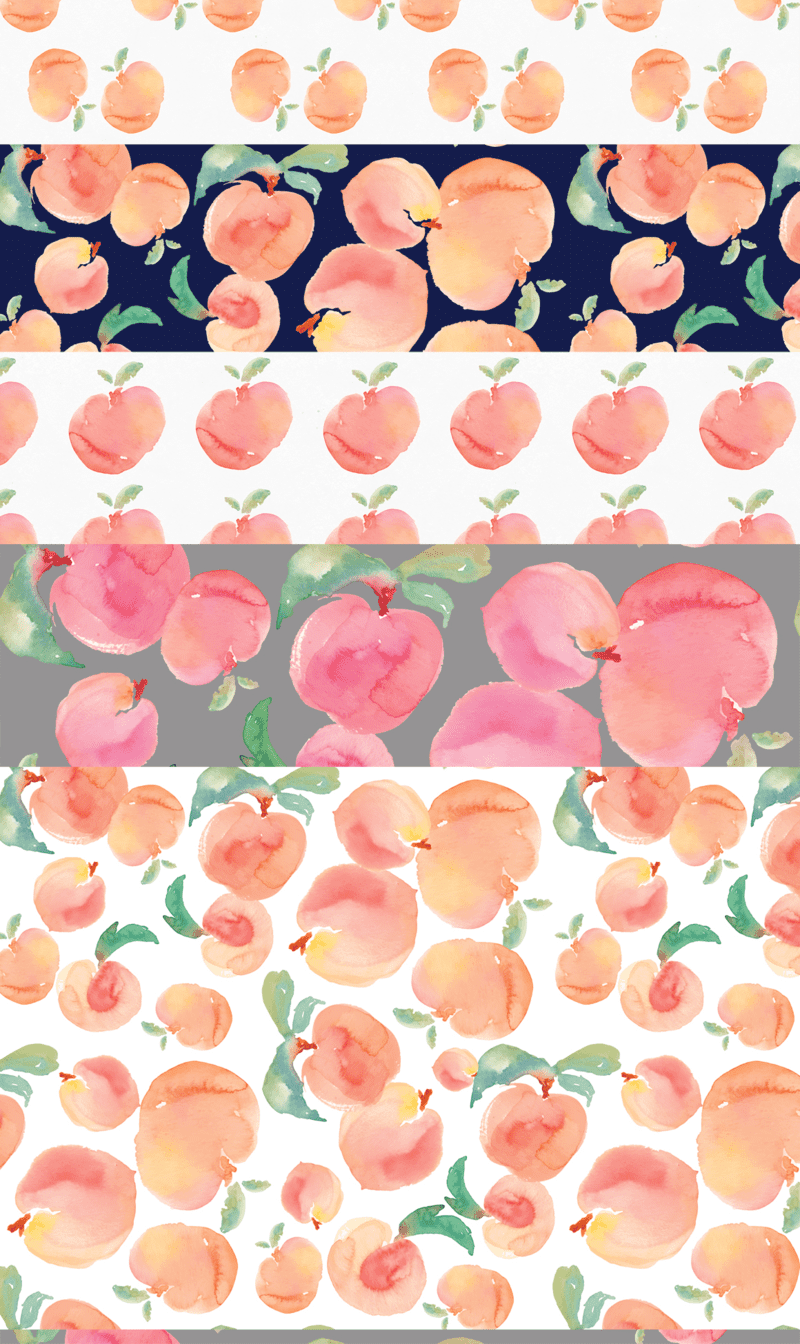 The Perfect Peach Projects Spoonflower Blog